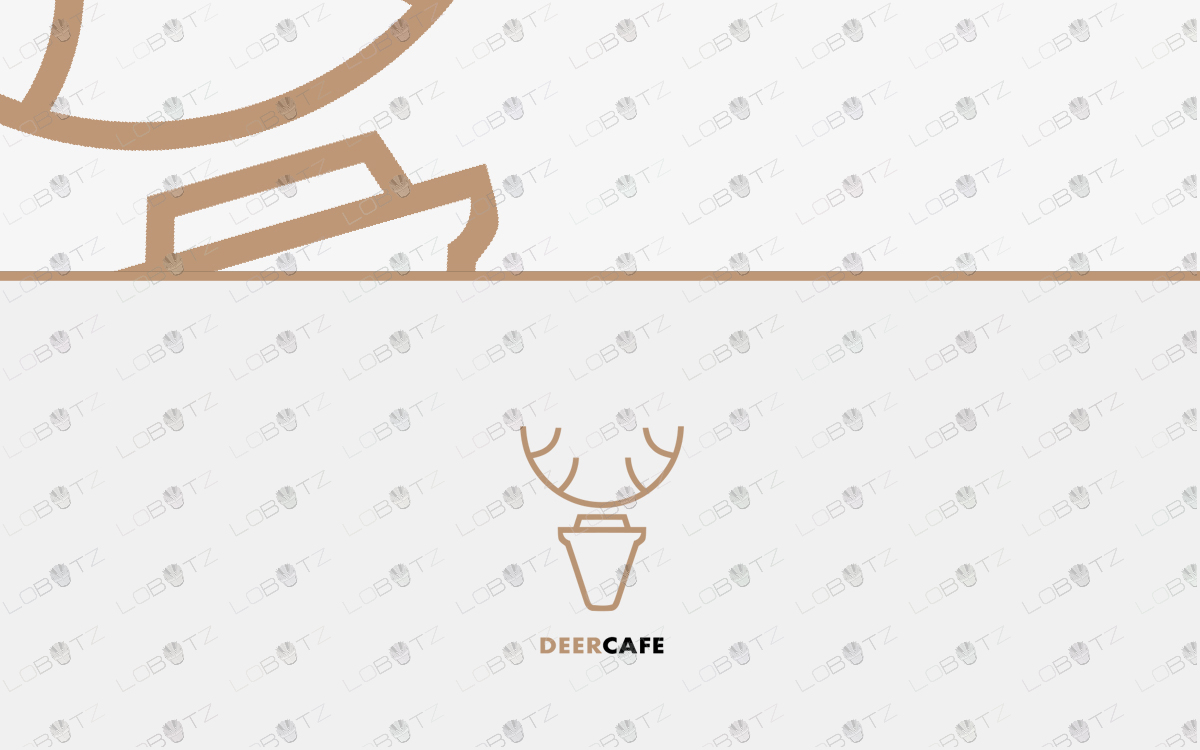coffee deer logo to buy online