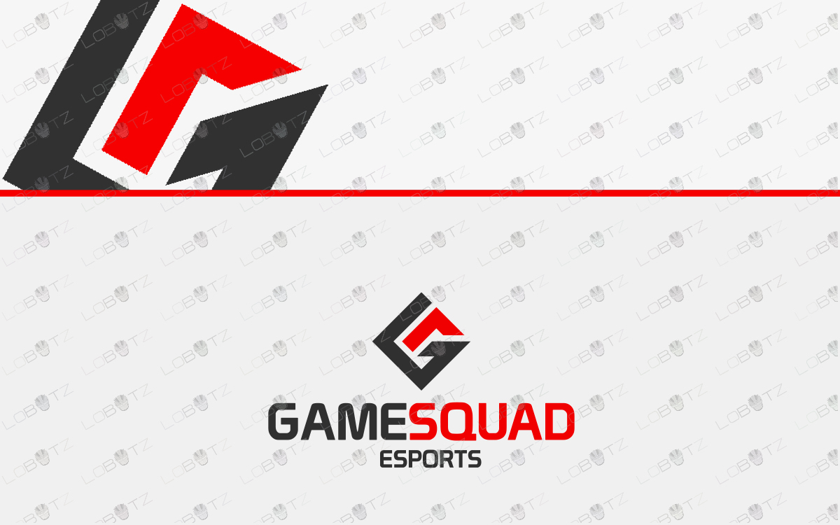 game squad logo esports logo to buy online