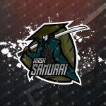 Mask Samurai eSports Logo | Samurai Mascot Logo