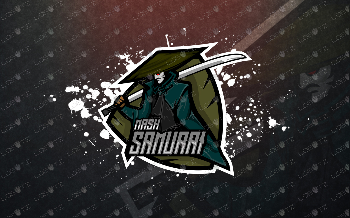 samurai esports logo samurai mascot logosamurai esports logo samurai mascot logo