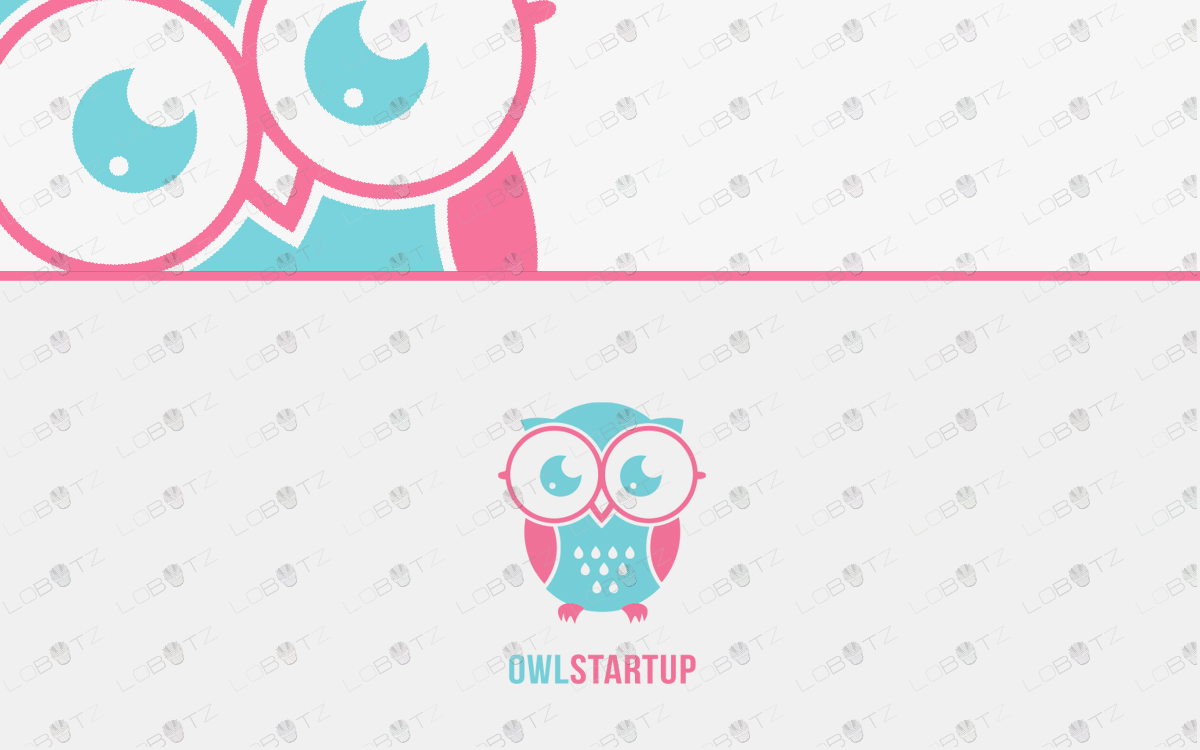 owl logo for sale premade logos