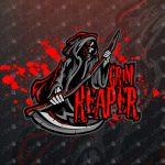 Reaper eSports Logo | Grim Reaper Mascot Logo For Sale