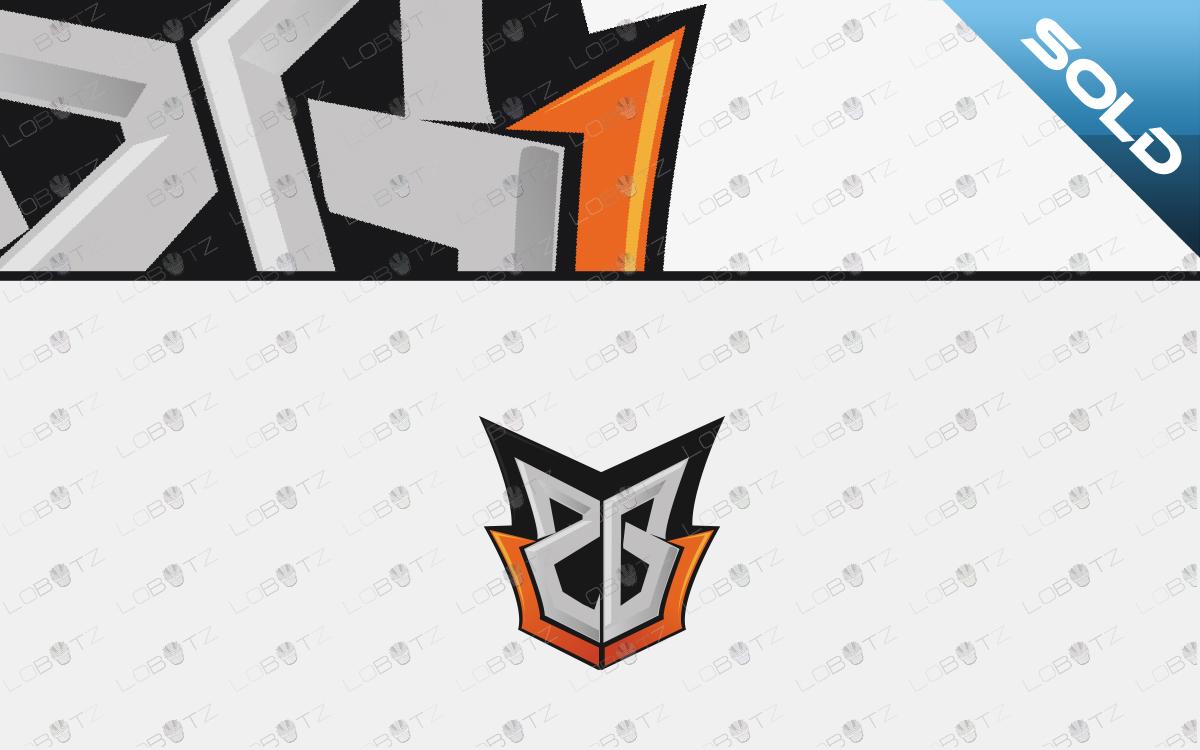 letter Z & G mascot logo