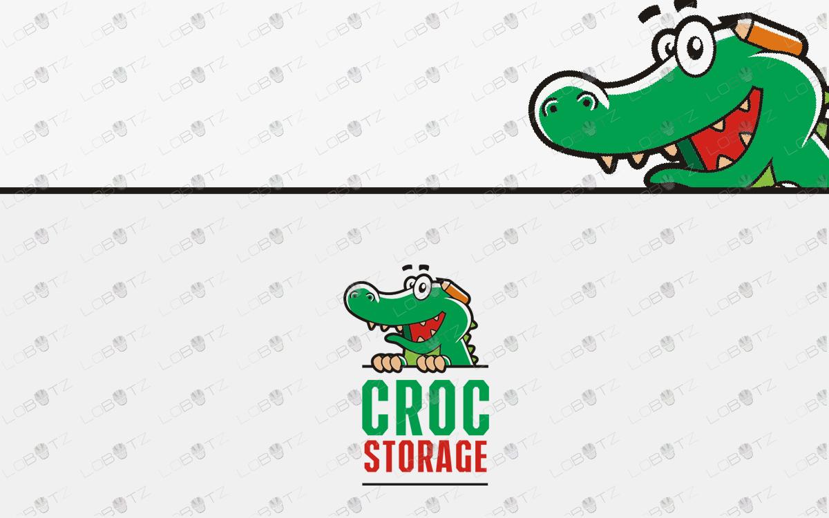 Crocodile Logo for sale