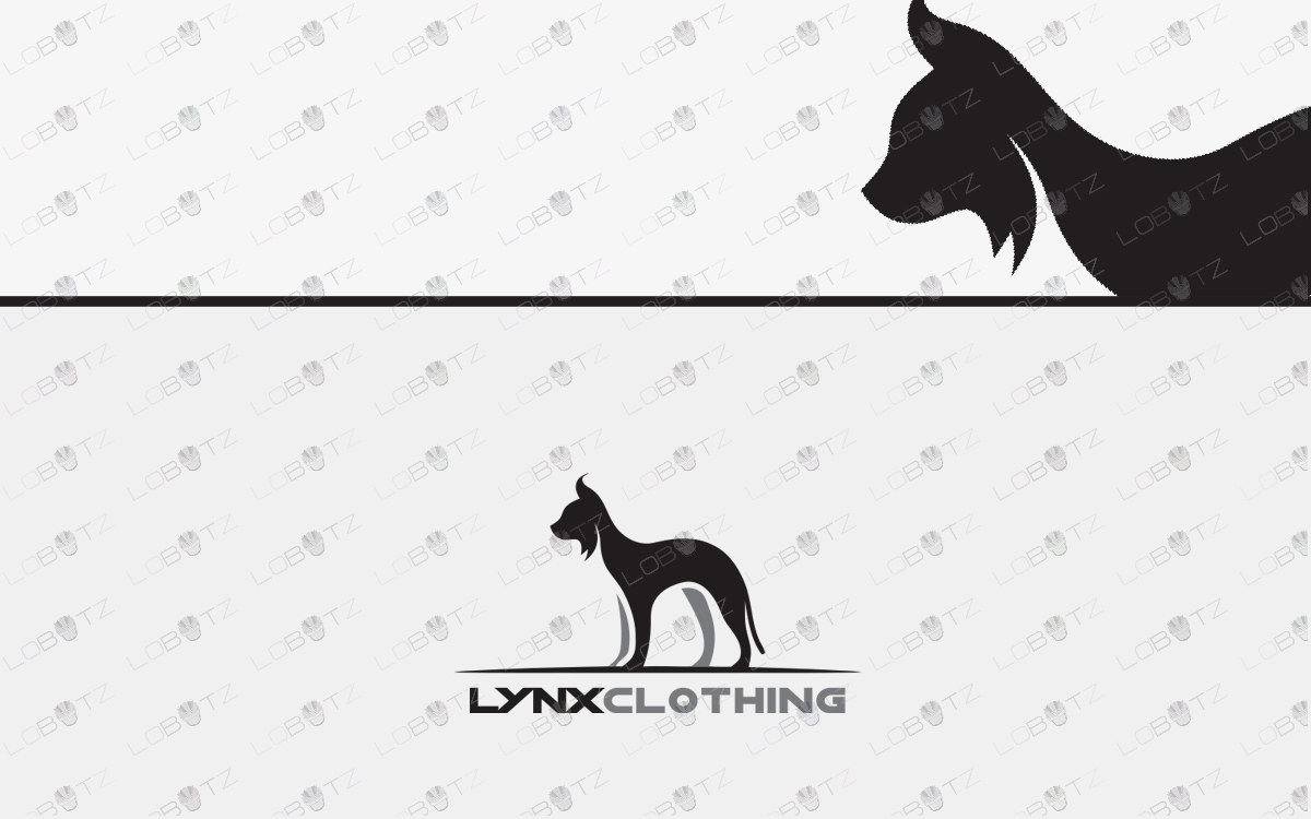 lynx logo for sale cat logo