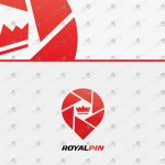 Royal Crown Logo For Sale | Crown Pin Logo