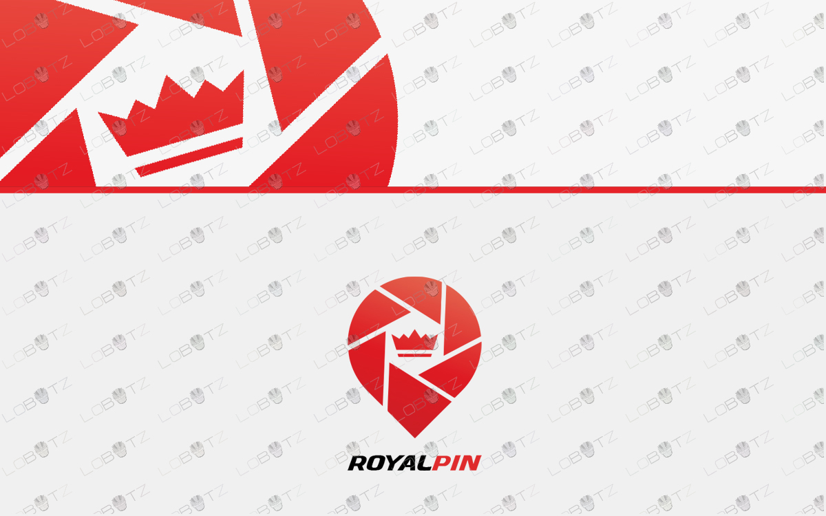 crown logo for sale pin logo for sale
