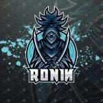 Ronin eSports Logo | Ronin Mascot Logo For Sale
