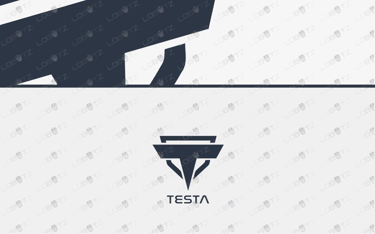 letter t logo logos like tesla logo