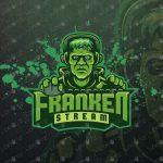 Frankenstein Gamer eSports Logo | Gamer Mascot Logo