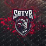 Goat Mascot Logo For Sale Readymade Goat eSports Logo