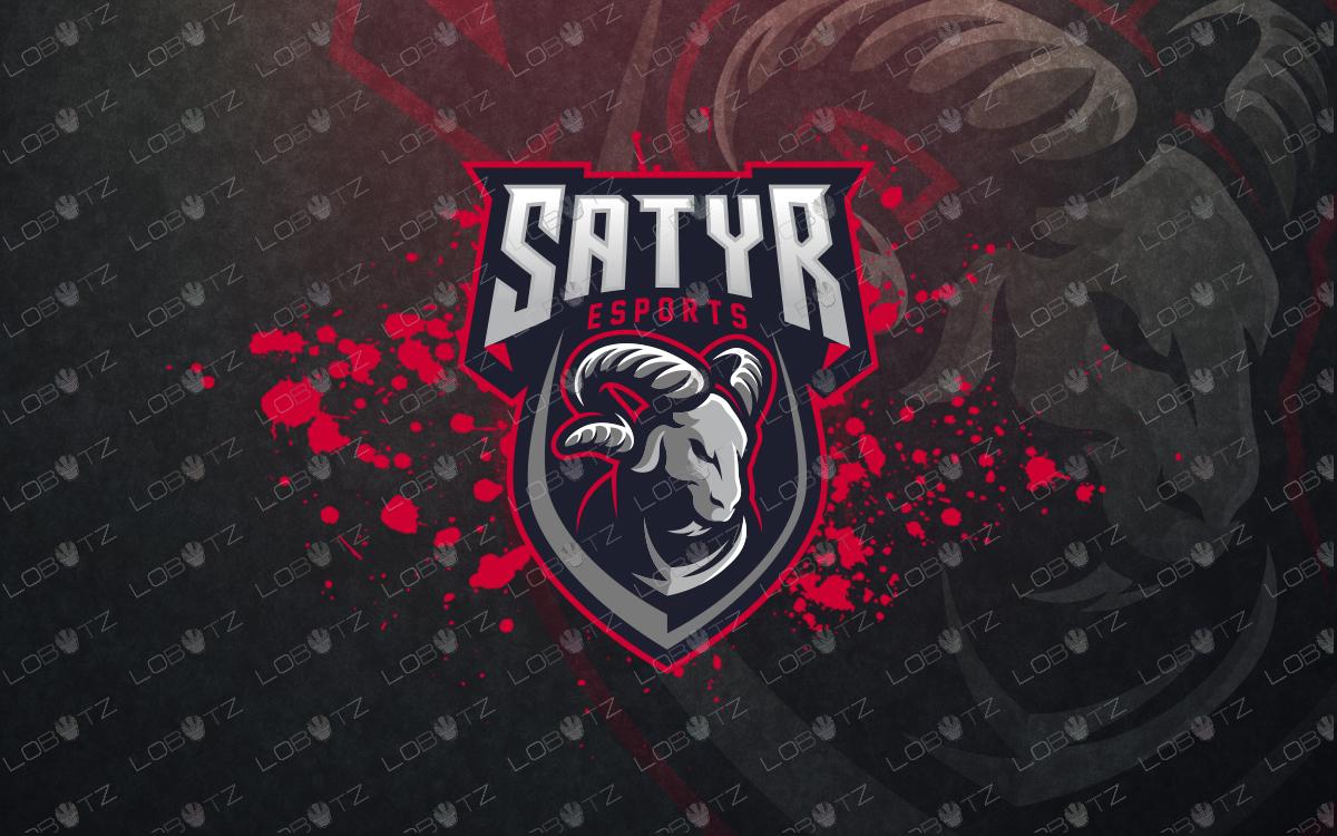 goatmascot logo goatesports logo