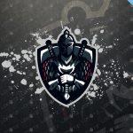 Knight Mascot Logo   Knight eSports Logo For Sale