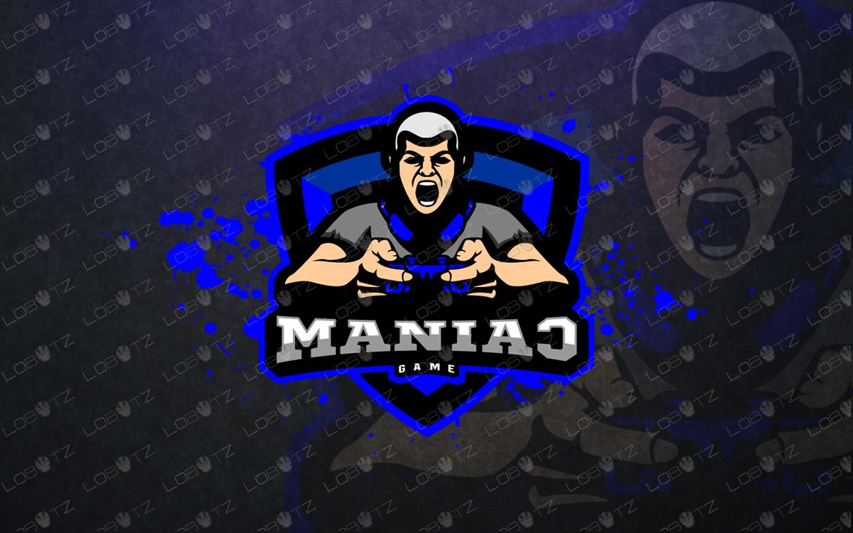 Gamer Mascot Logo Gamer esports Logo