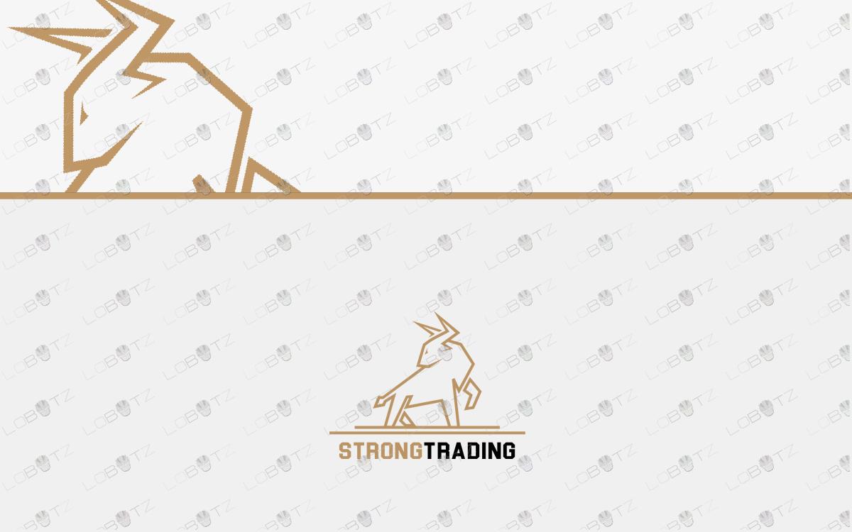 bull logo for sale