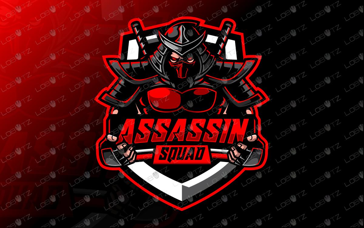 Assassin Esports Logo For Sale Assassin Mascot Logo Lobotz