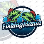Creative Fishing Logo Hunting Logo OutDoor Logo