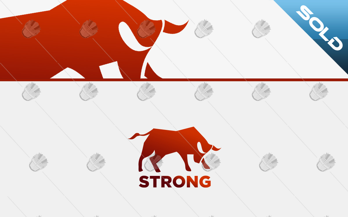 premade bull logo for sale