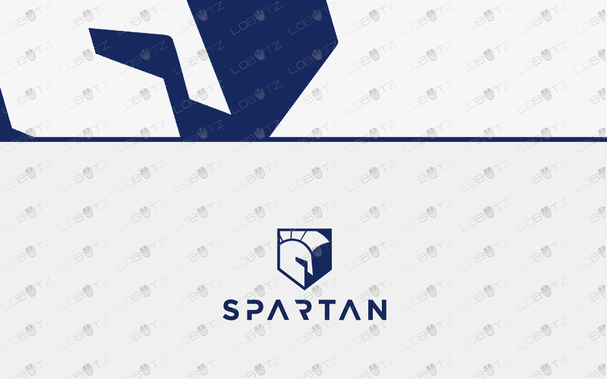 spartan shield logo for sale