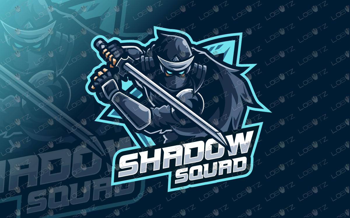 esports shinobi logo shinobi mascot logo shinobi esports logo