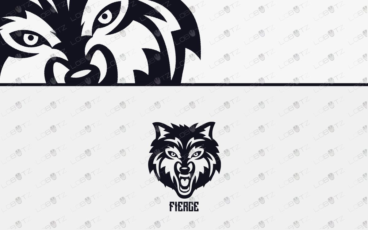 fierce wolflogo for sale