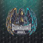 Guardian Angel eSports Logo For Sale | Guardian Angel Mascot Logo