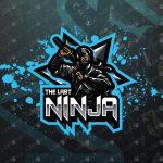 The Last Ninja Mascot Logo | Ninja eSports Logo For Sale