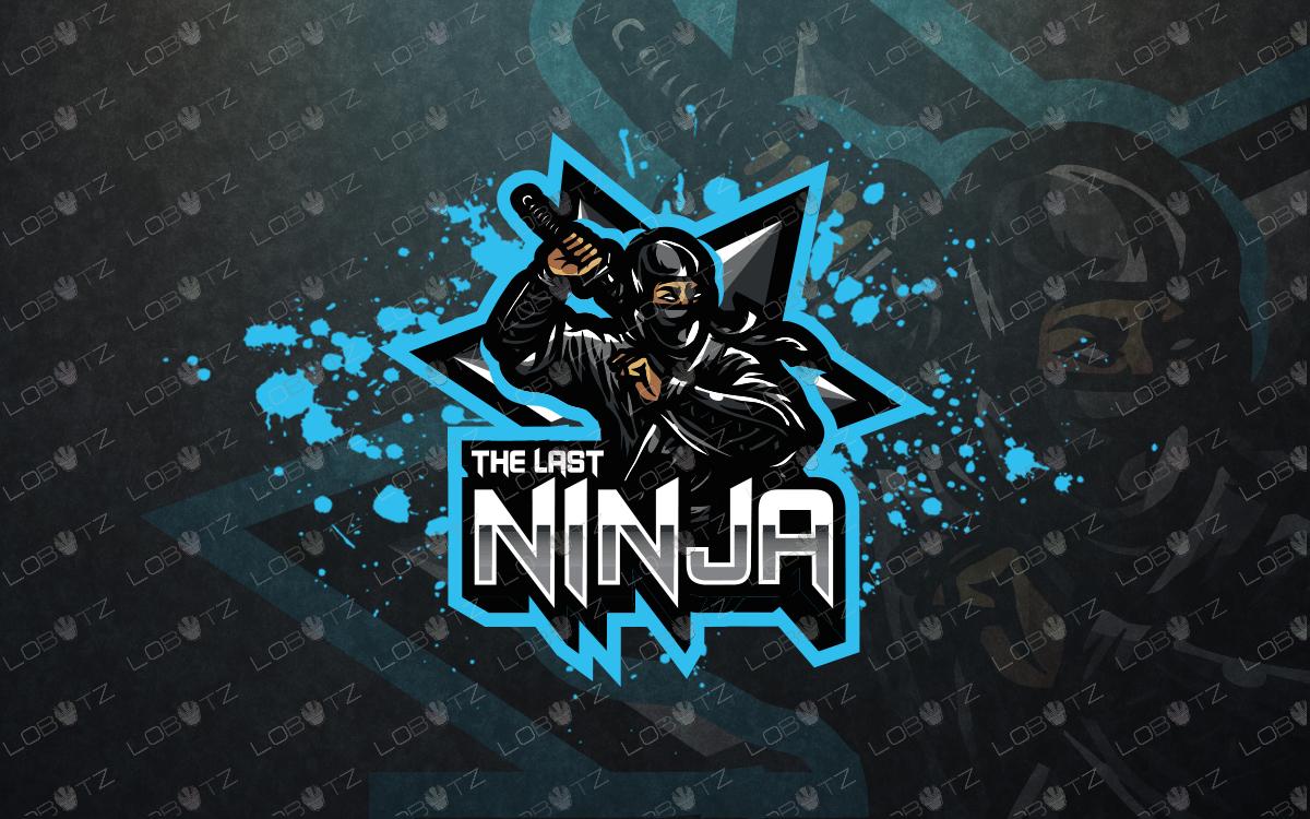 ninja esports logo ninja mascot logo premade logos