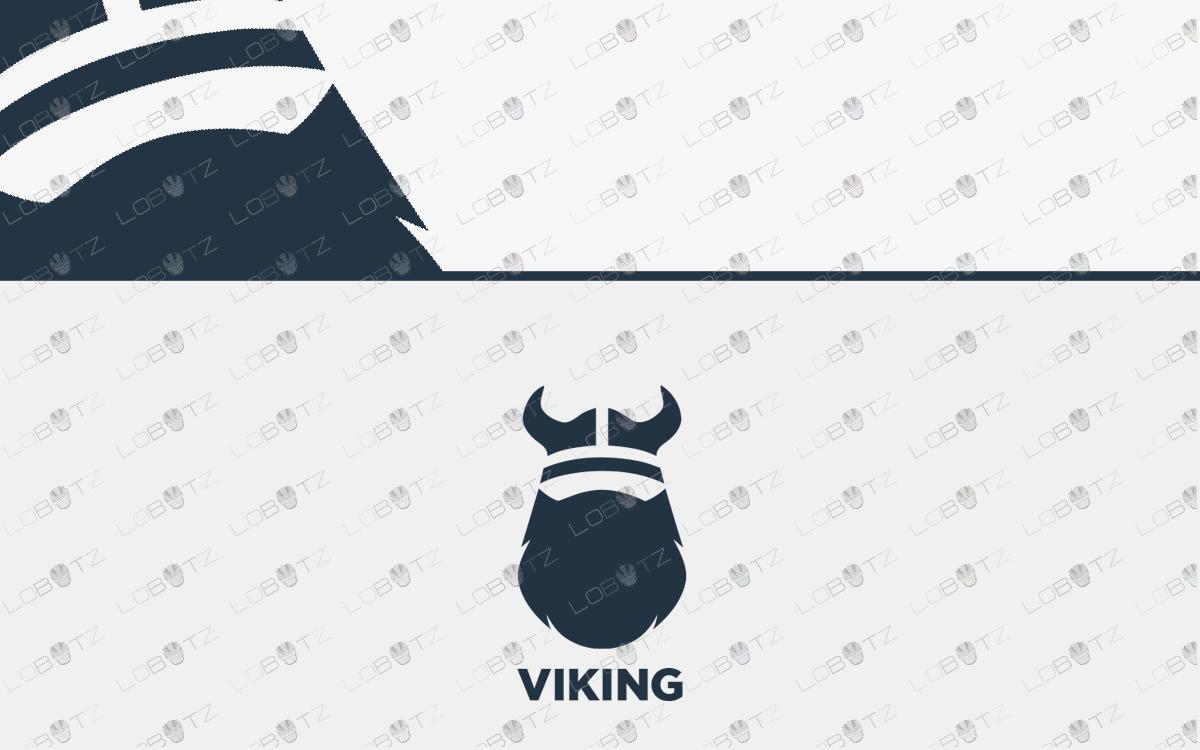 Premium Viking Logo For Sale