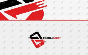 mobile shop logo for sale