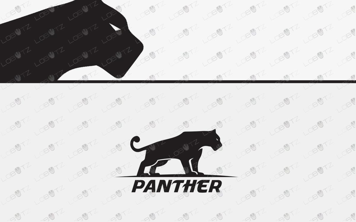 premade Pantherlogo for sale