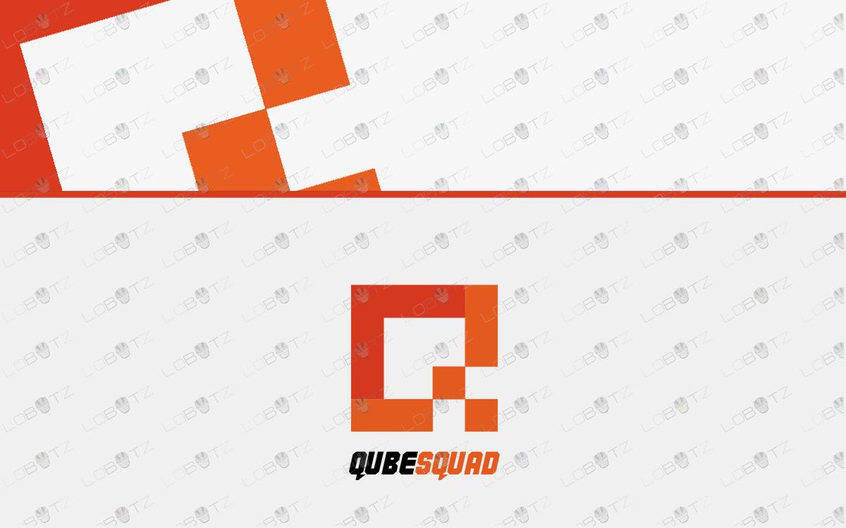 letter Q Team logo for sale
