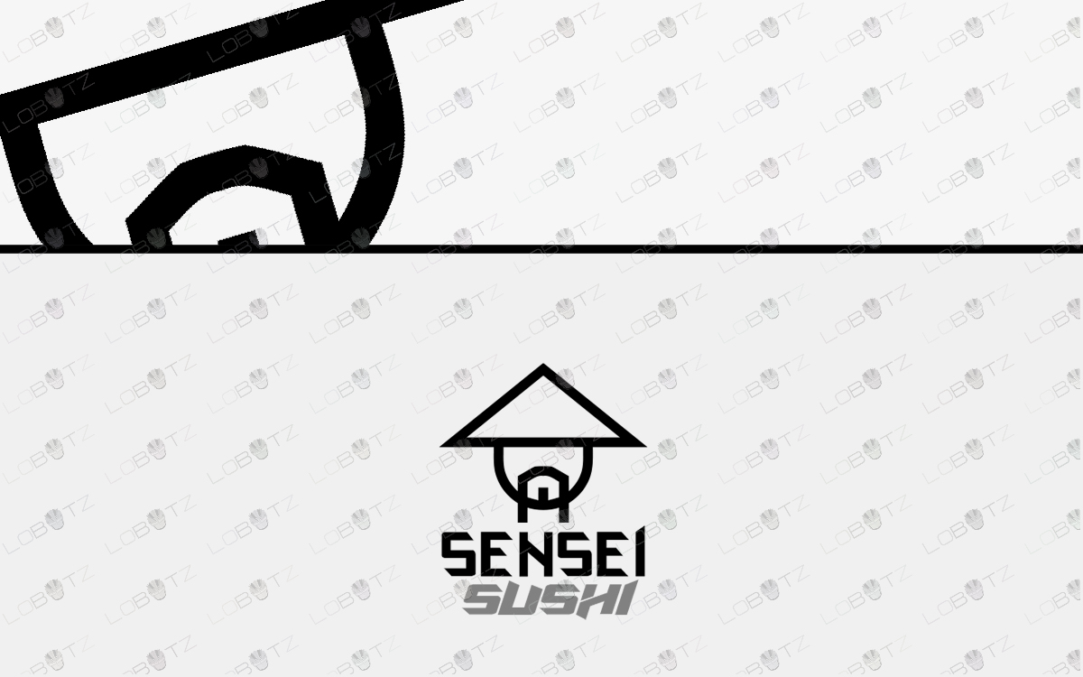 sensei logo for sale