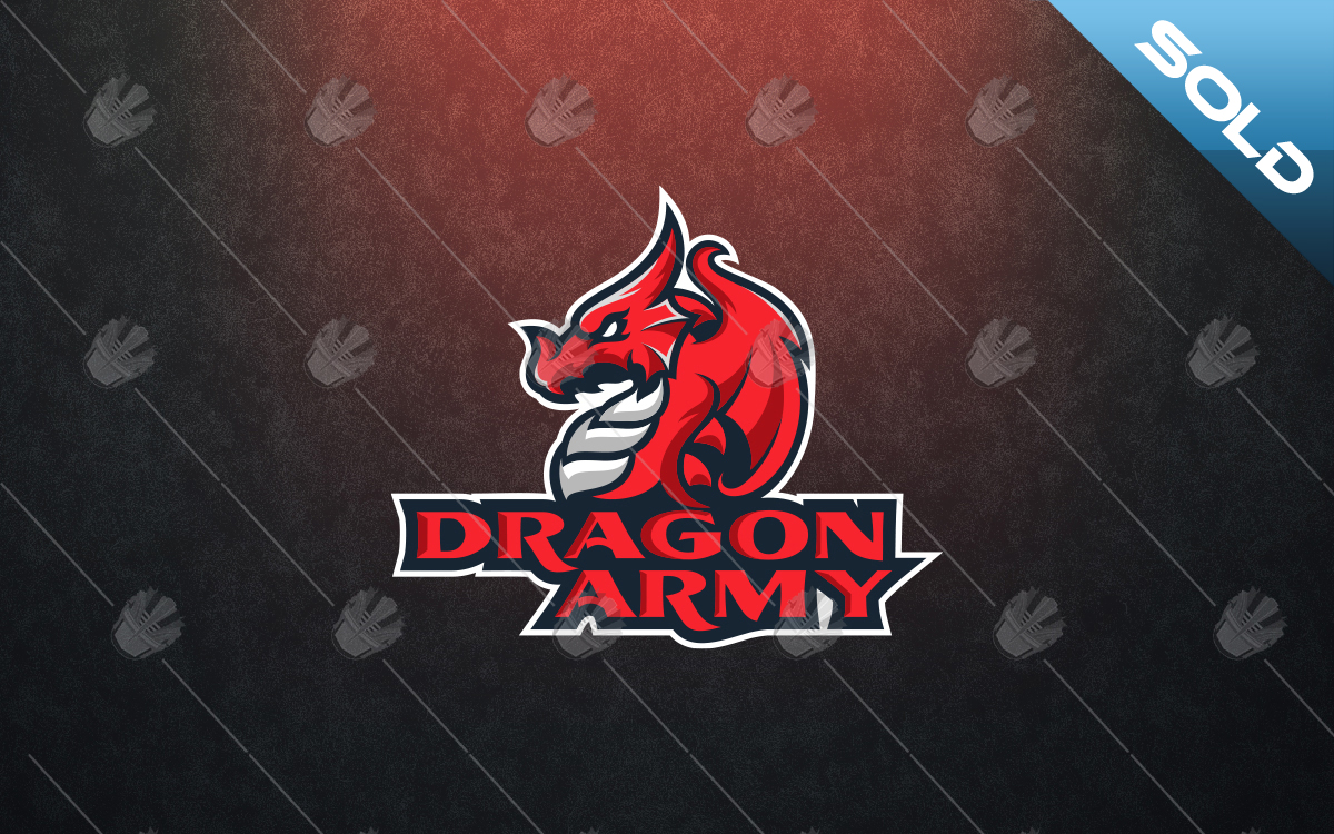 gaming dragon logo for sale