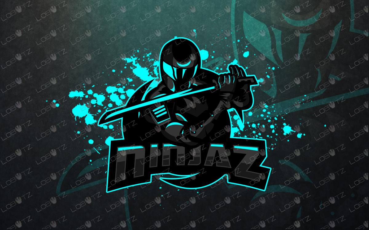 ninja mascot logo ninja esports logo premade logoninja mascot logo ninja esports logo premade logo