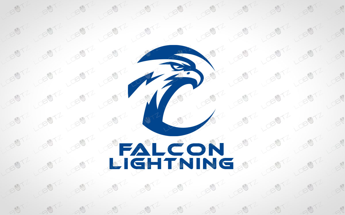premade falcon logo for sale
