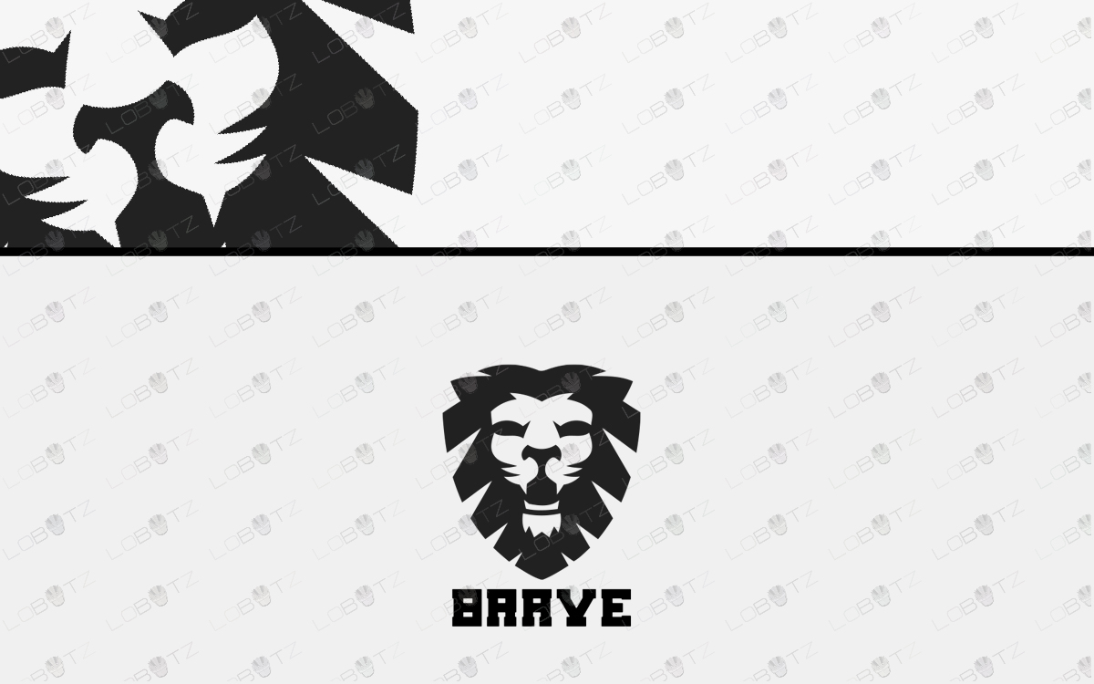 lion crest logo for sale
