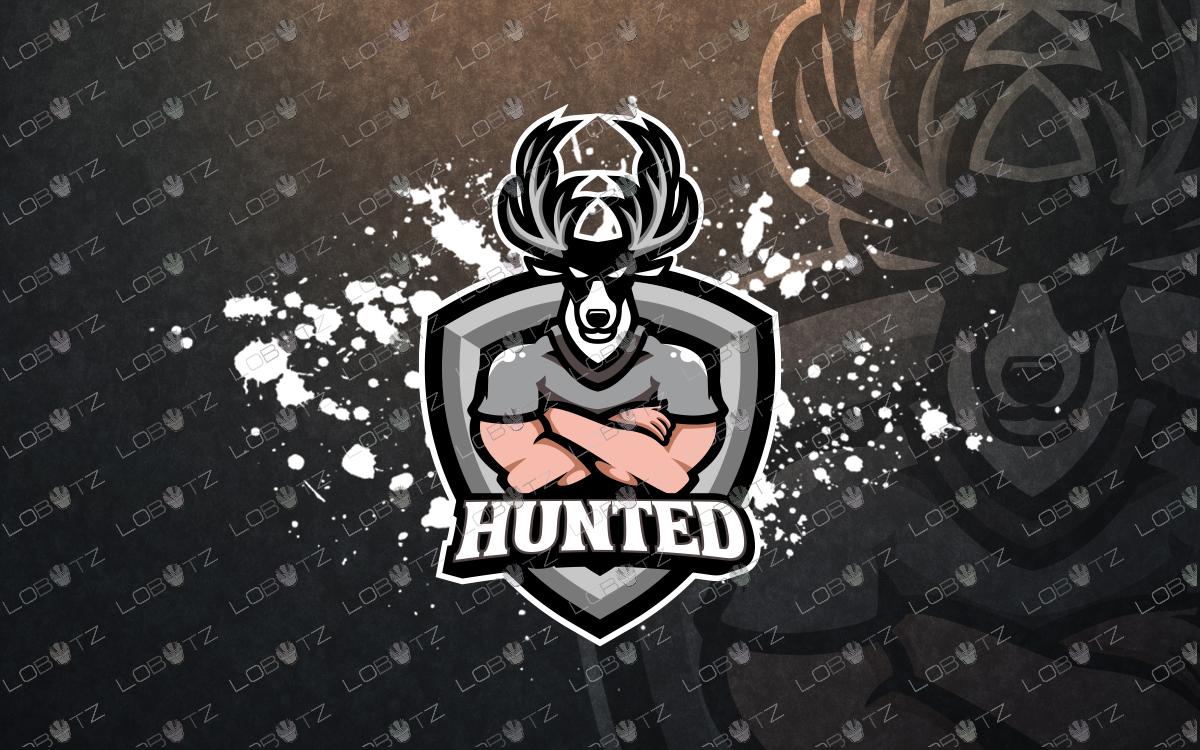 premade deer mascot logo deer esports logo