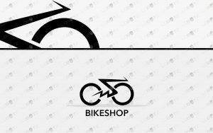 premade bike logo for sale