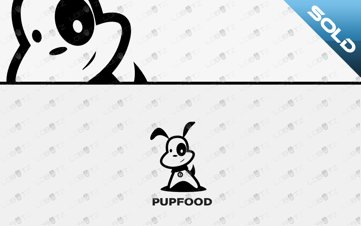 Dog Food Puppy Logo For Sale Awesome Dog Food Logo Lobotz