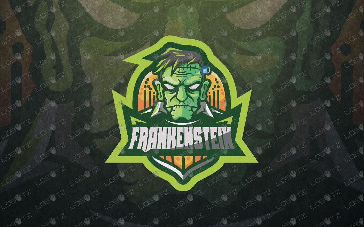 frankenstein monster mascot logo frankenstein monster esports logo
