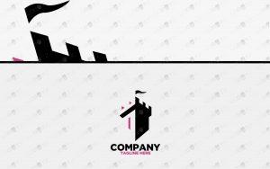 premium castle logo for sale premade logo