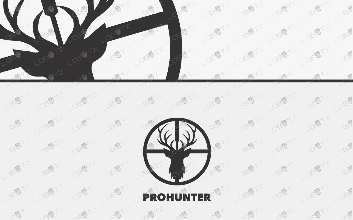Deer Hunting Logo For Sale Deer Logo