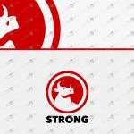 Strong Bull Logo For Sale | Creative Bull Logo To Buy Online