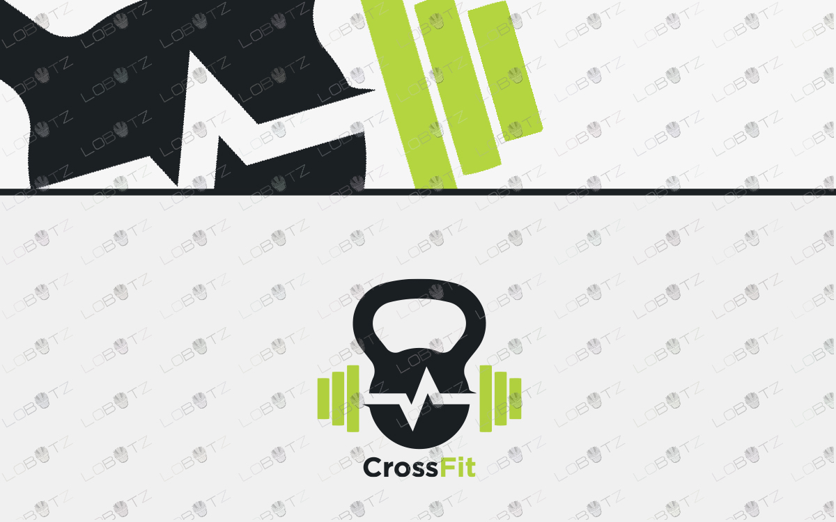 crossfit logo for sale fitness logos premade