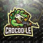 Awesome Crocodile Mascot Logo For Sale | eSports Logo