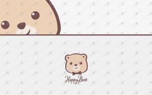 bear logo for sale premade bear logo