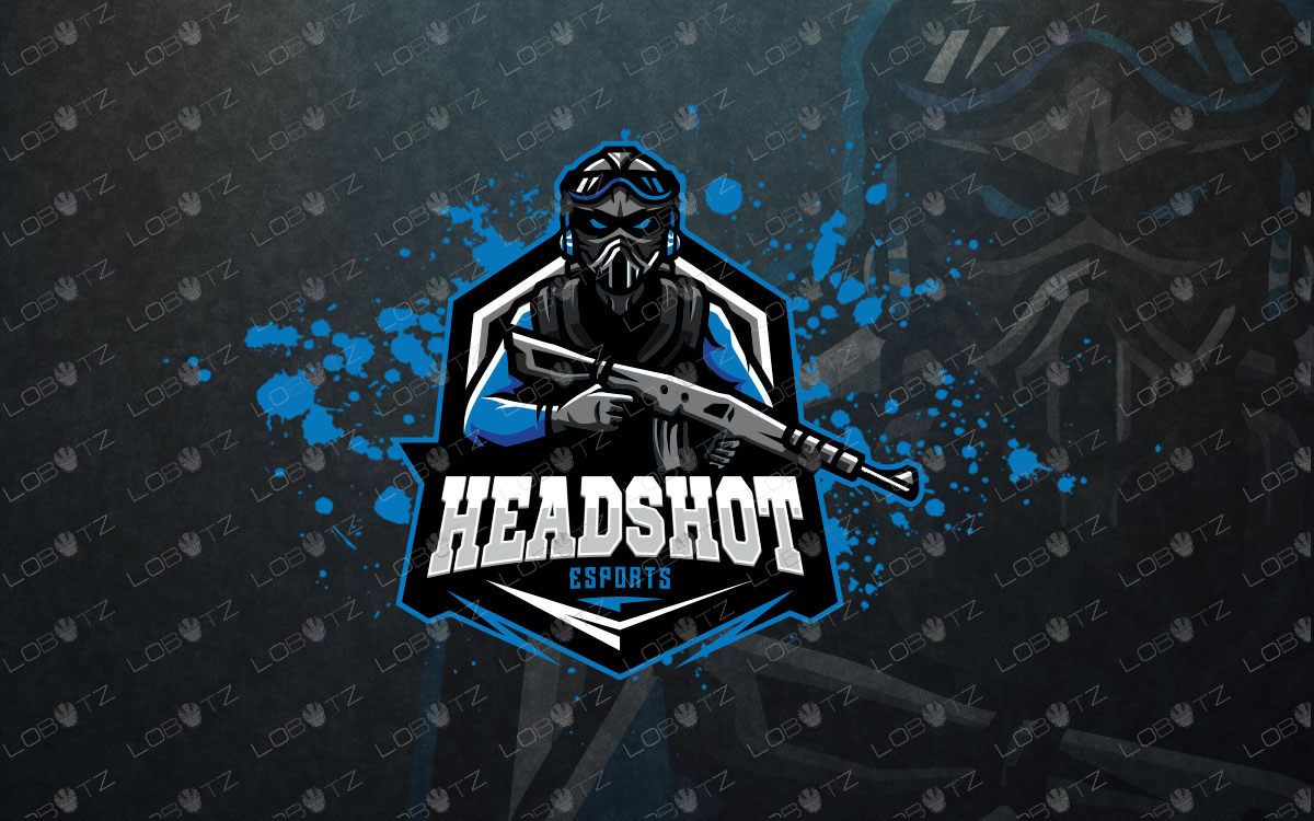 soldier mascot logo soldier esports logo premade