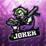 Joker Mascot Logo To Buy Online | Joker eSports Logo For Sale