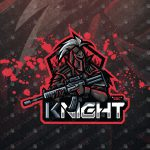 Knight eSports Logo | Knight Mascot Logo For Sale